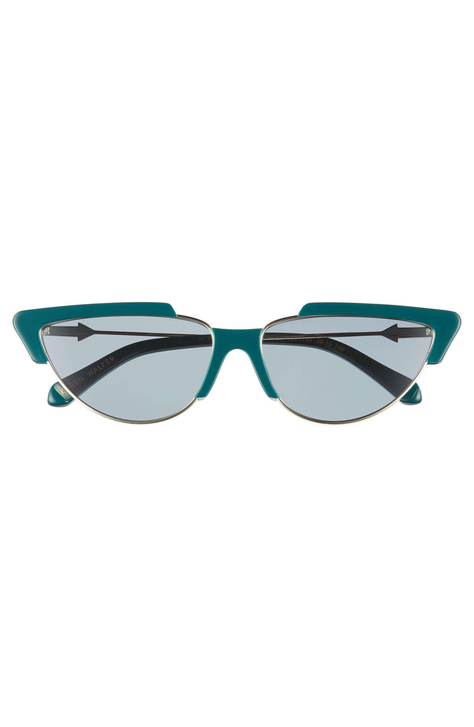 4d9c3e39603b Karen Walker Tropics 58mm Cat Eye Sunglasses | Nordstrom