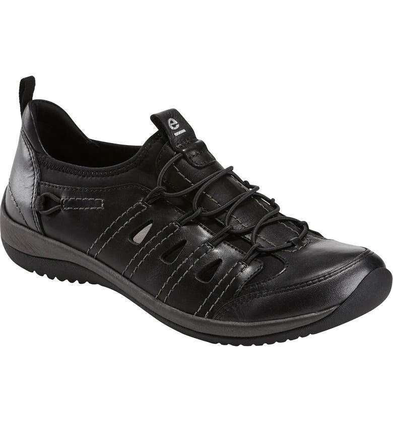 EARTH<SUP>®</SUP> Goodall Sneaker, Main, color, BLACK LEATHER