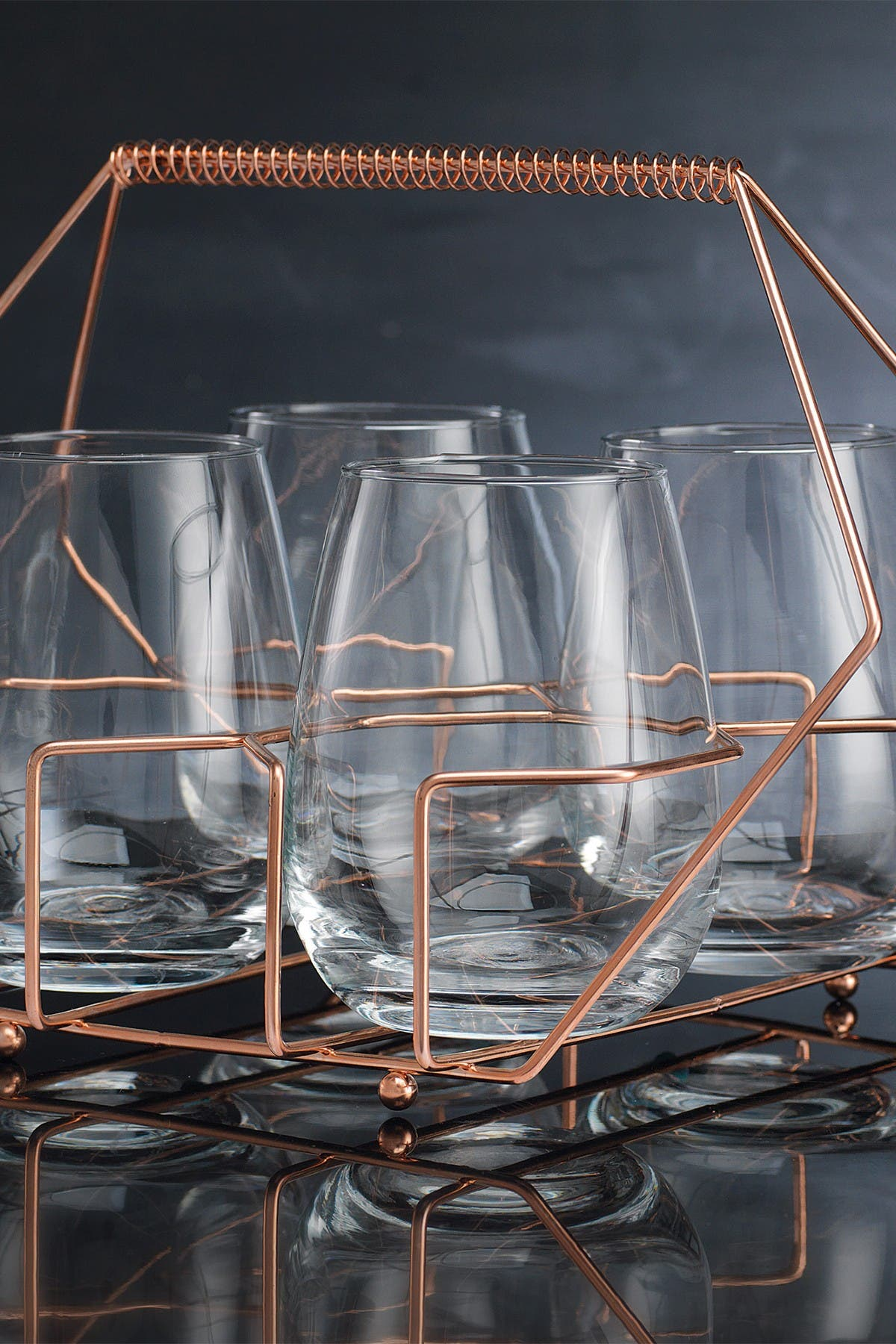Image of Home Essentials and Beyond Cellini 5-Piece Bar Set