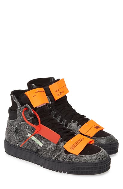 Off-White Off Court Sneaker In Melange Grey