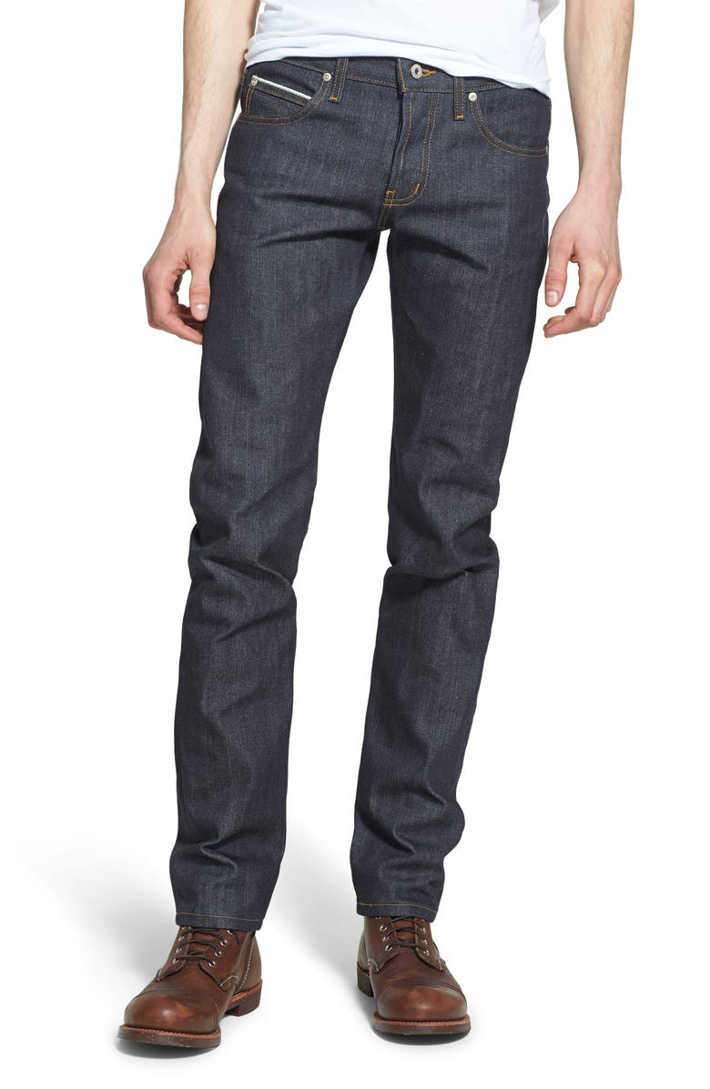 NAKED & FAMOUS DENIM Super Guy Skinny Fit Jeans, Main, color, LEFT HAND TWILL SELVEDGE