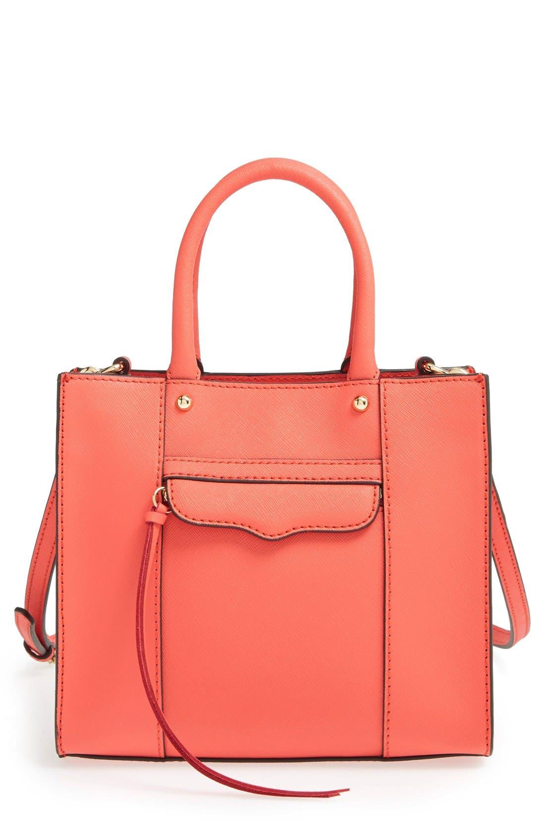 ,                             'Mini MAB Tote' Crossbody Bag,                             Main thumbnail 137, color,                             801
