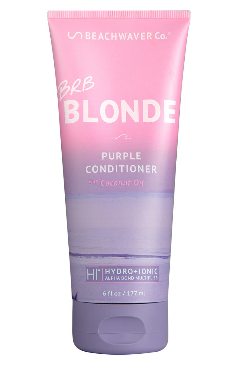 BEACHWAVER<SUP>®</SUP> CO. The Beachwaver Co.<sup>™</sup> BRB Blonde Purple Conditioner, Main, color, NO COLOR