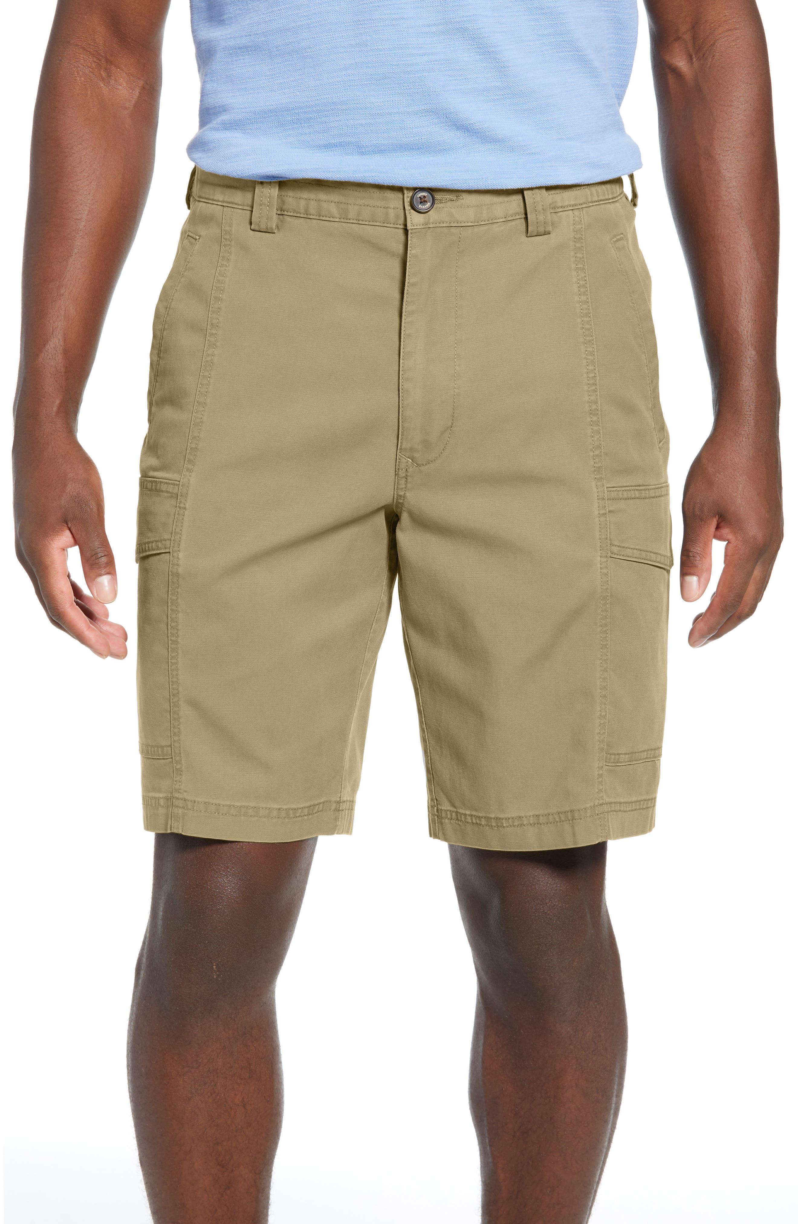 Tommy Bahama Key Isles Cargo Shorts, Beige