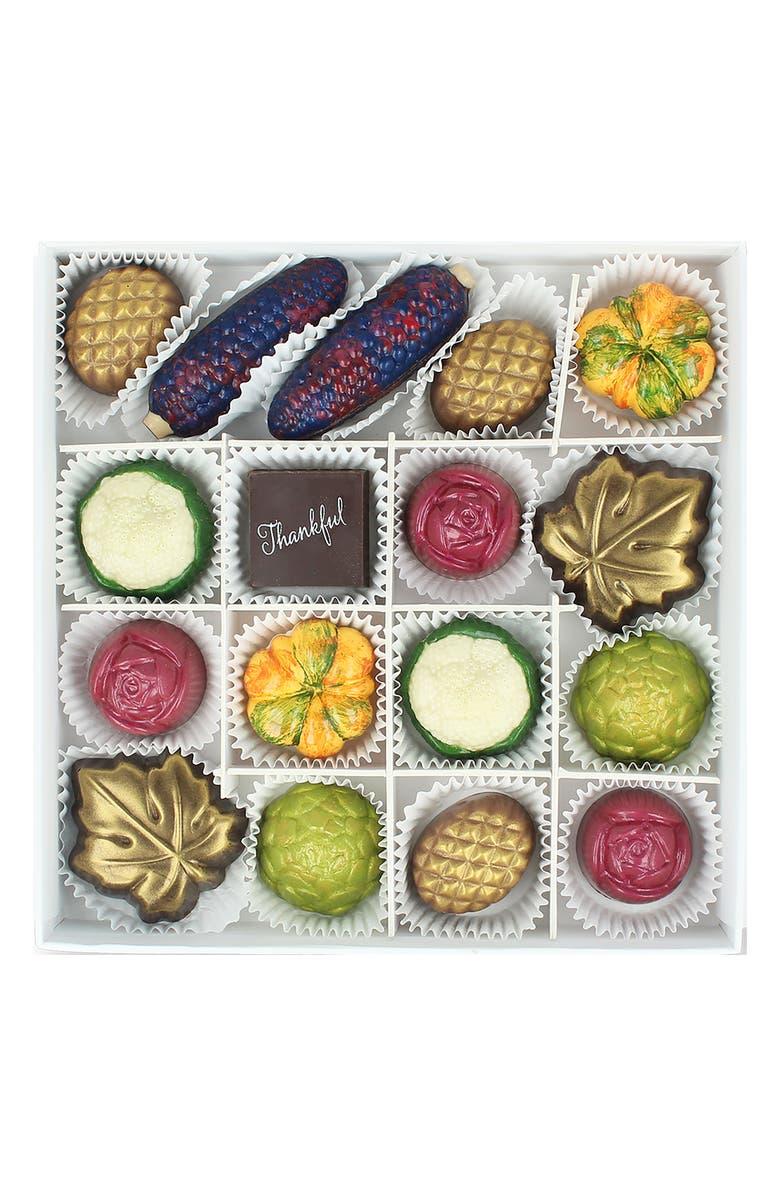 MAGGIE LOUISE CONFECTIONS 17-Piece Chocolates, Main, color, 100