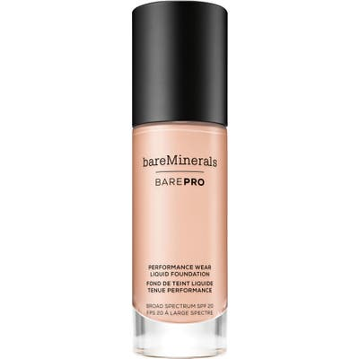 Bareminerals Barepro Performance Wear Liquid Foundation - 0.5 Porcelain