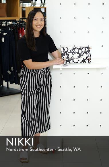 'Tasia' Print Foldover Clutch, sales video thumbnail