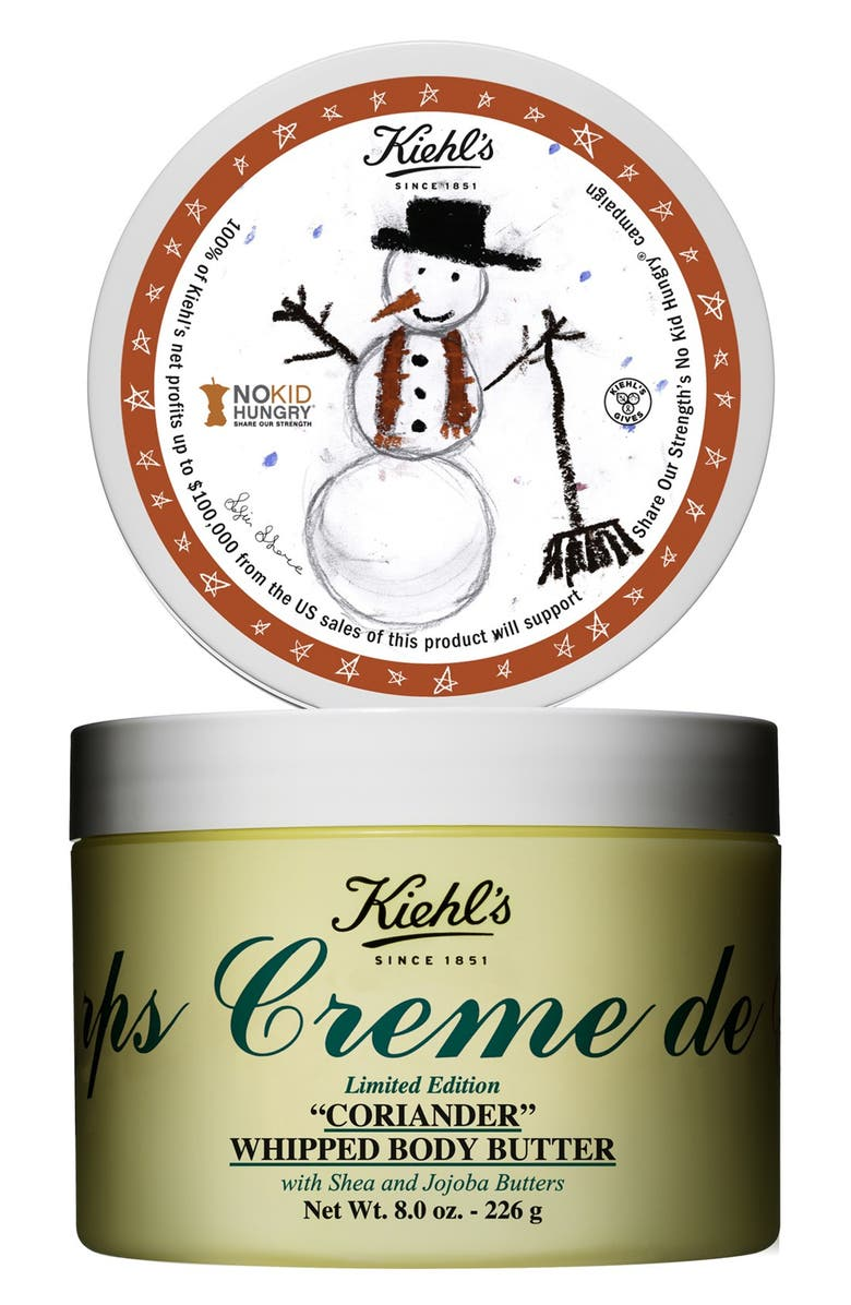 KIEHL'S SINCE 1851 'Coriander' Whipped Body Butter, Main, color, 000