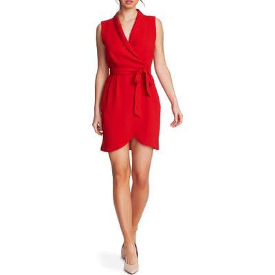 1.state Faux Wrap Dress