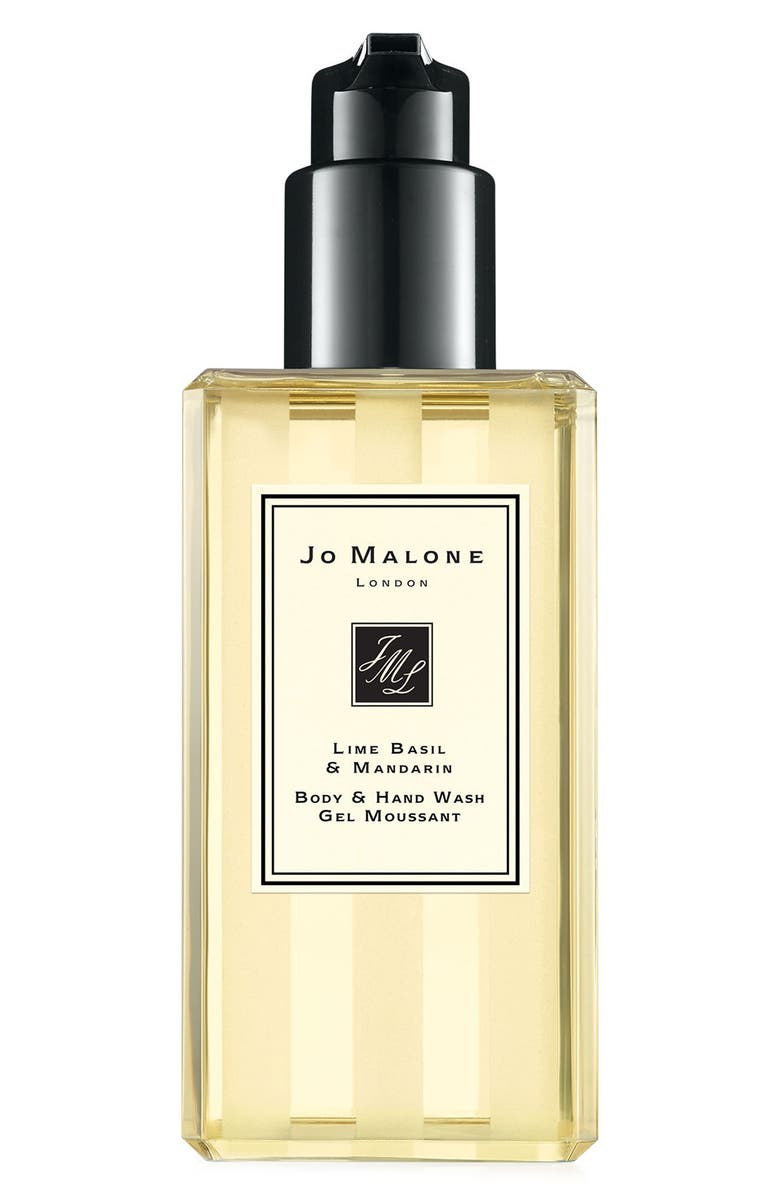 JO MALONE LONDON<SUP>™</SUP> Lime Basil & Mandarin Body & Hand Wash, Main, color, NO COLOR