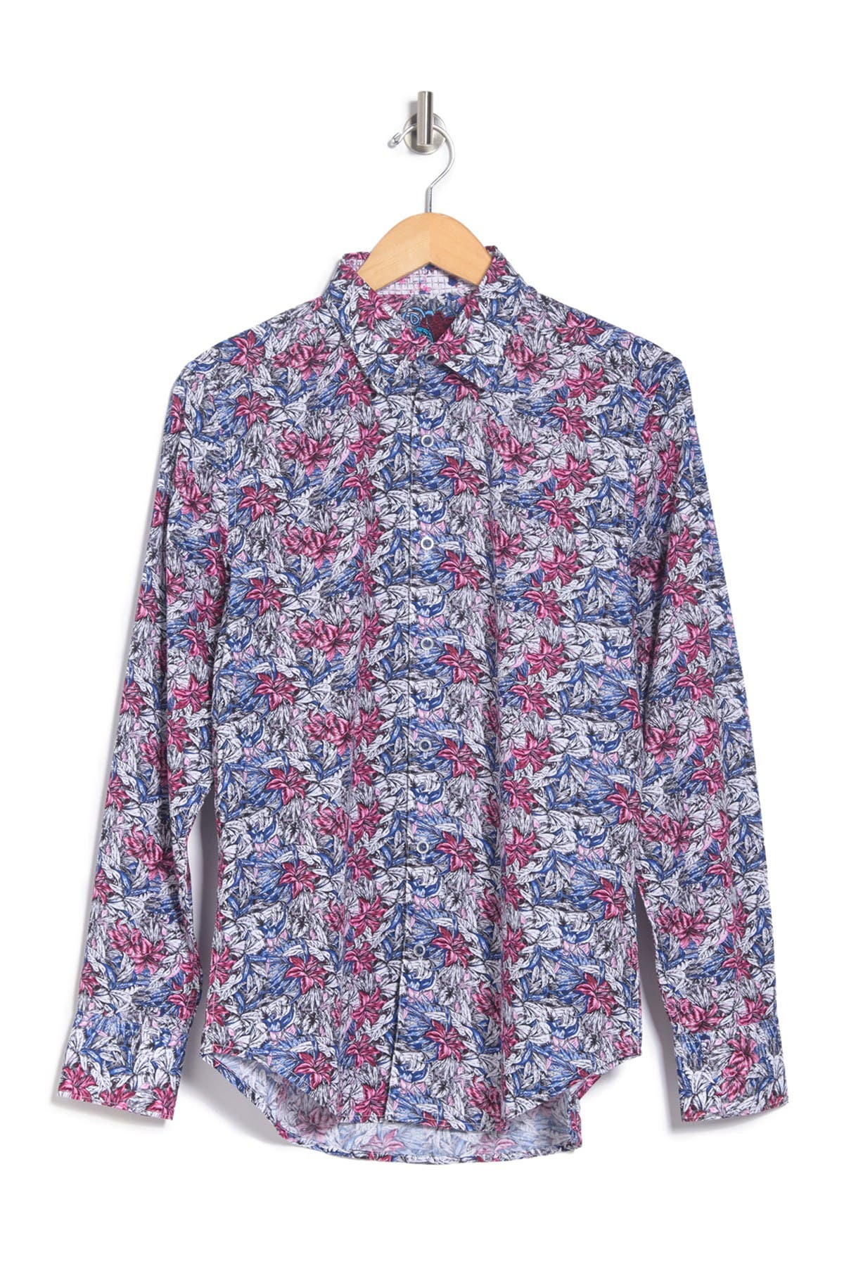 Image of Robert Graham Bloomfield Printed Classic Fit Shirt