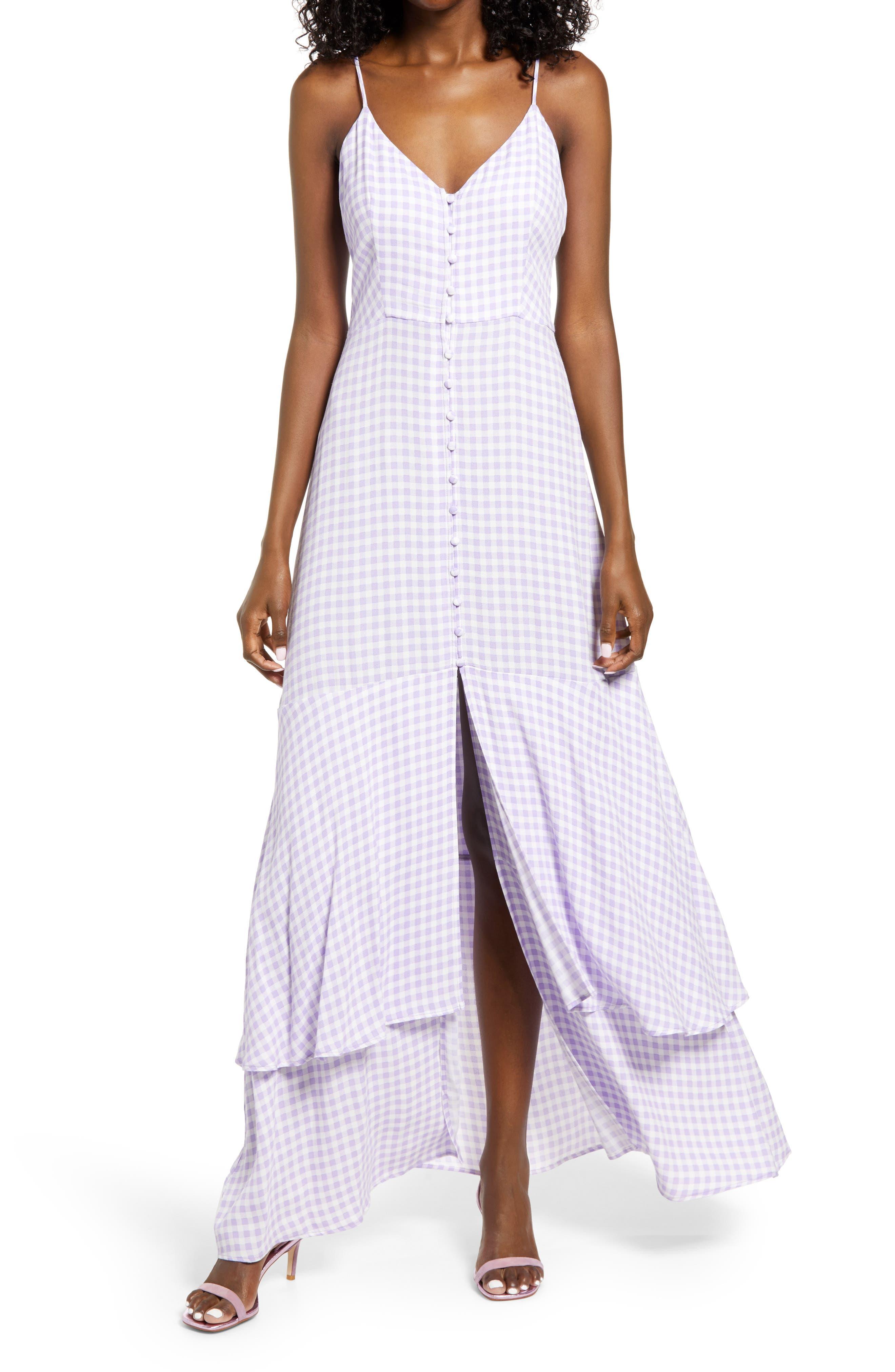 Nella Print Tiered Dress