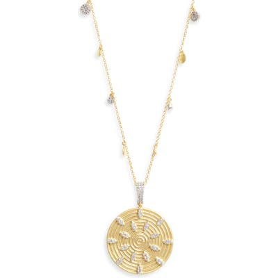 Freida Rothman Fleur Bloom Empire Pendant Necklace