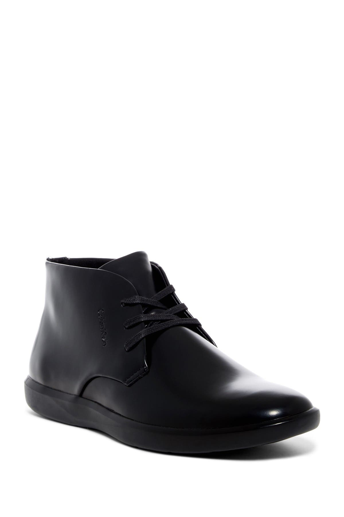 Image of Calvin Klein Marco Leather Chukka Boot