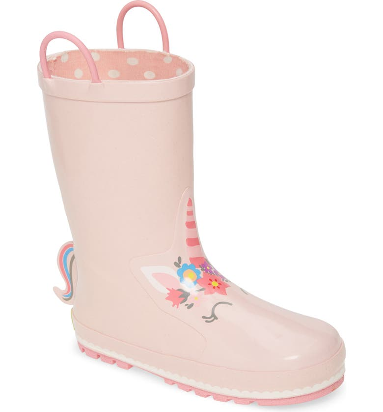 WESTERN CHIEF Unity Unicorn Waterproof Rain Boot, Main, color, SOFT ROSE