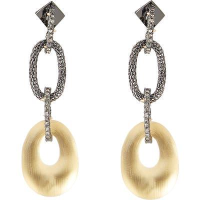Alexis Bittar Tube Mesh Multi Link Earrings