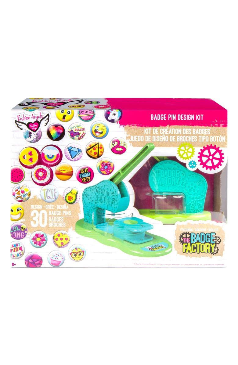 Fashion Angels The Badge Factory Badge Pin Design Kit Nordstrom