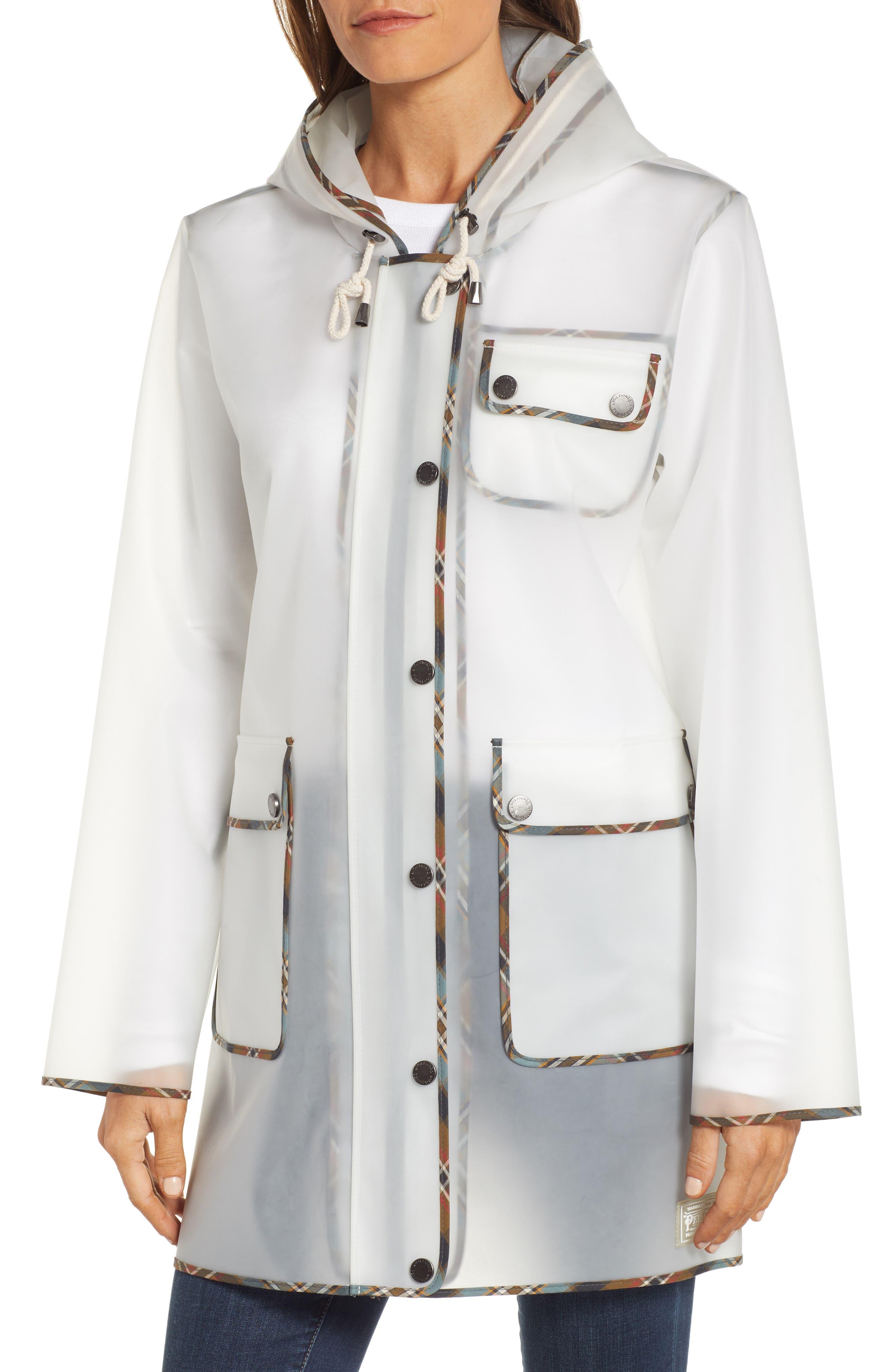 ,                             Manzanita Hooded Rain Jacket,                             Alternate thumbnail 5, color,                             DEW