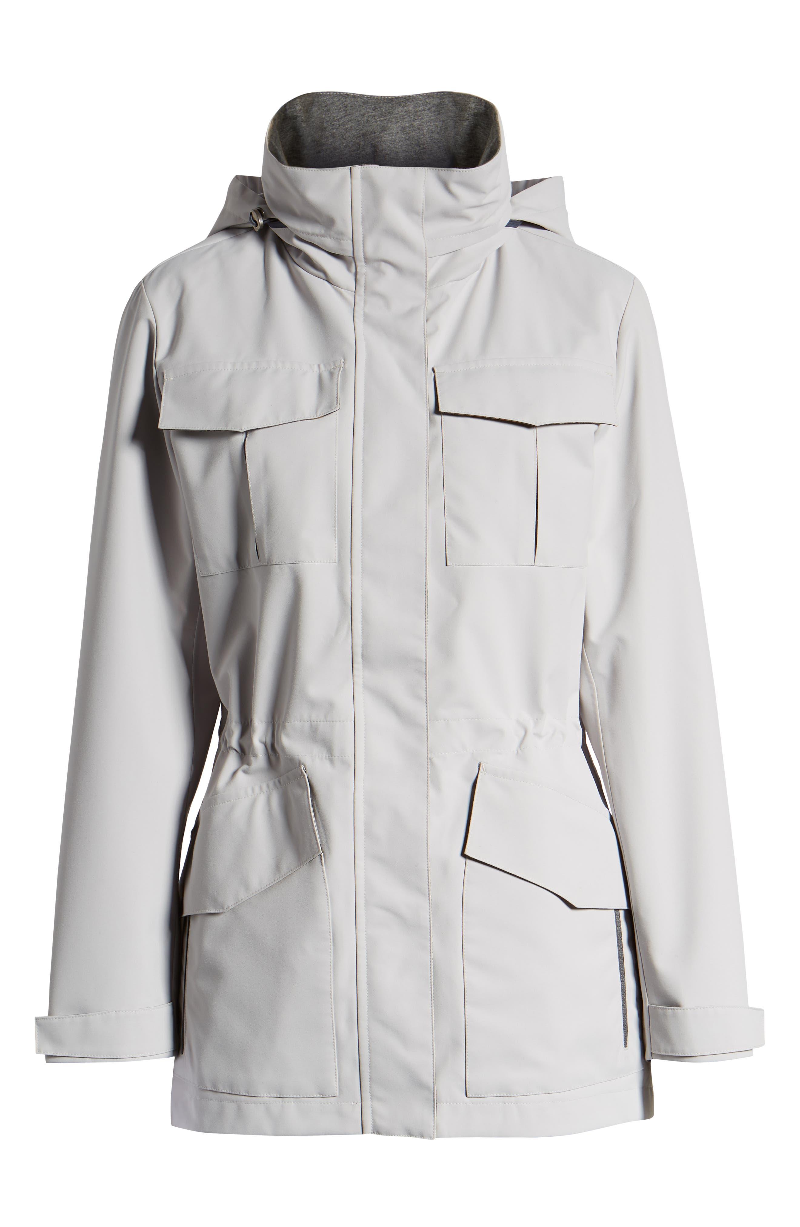 ,                             Lihn Hooded Utility Jacket,                             Alternate thumbnail 7, color,                             ALUMINUM