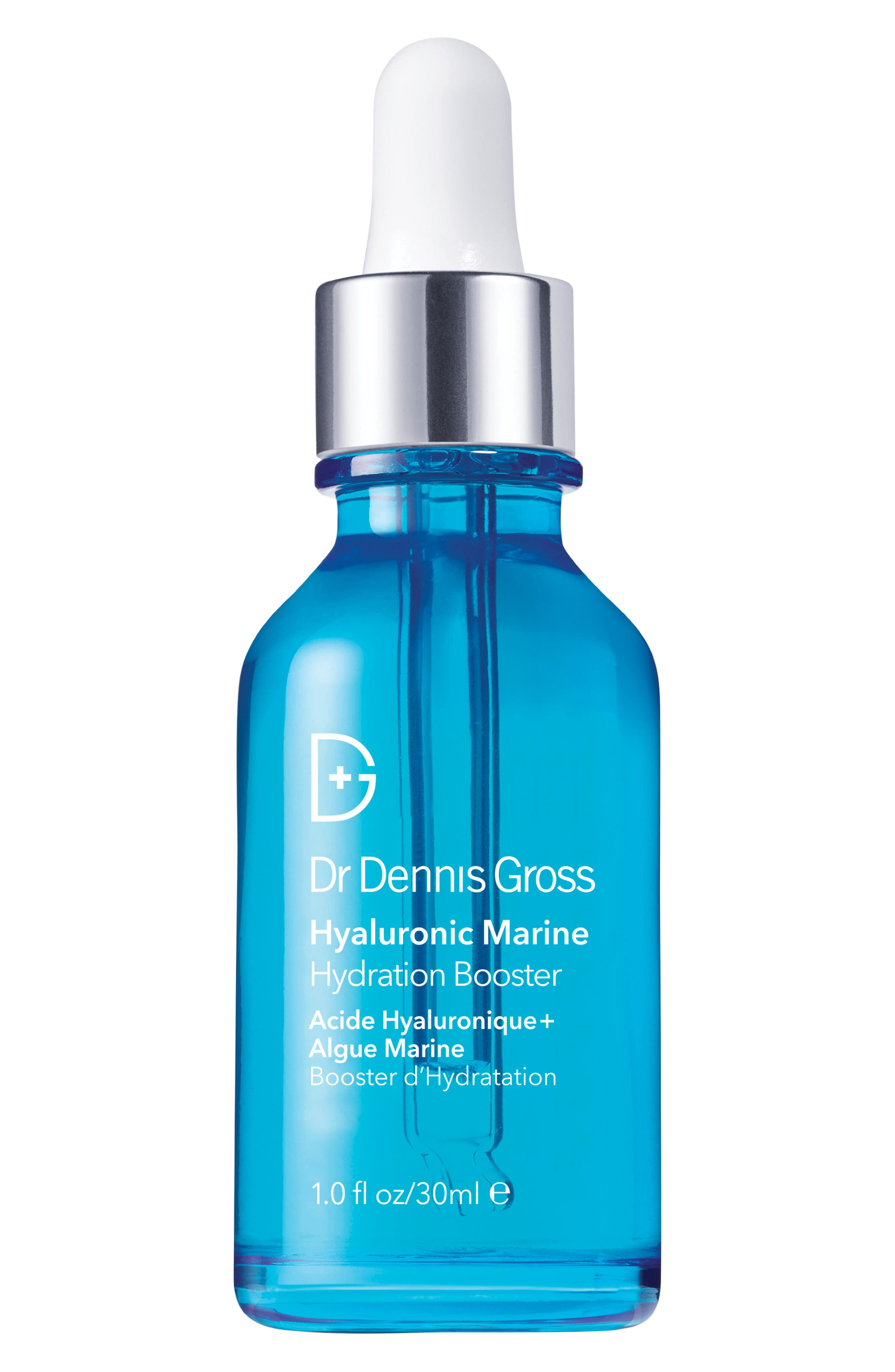 ,                             Dr. Dennis Gross Hyaluronic Marine Hydration Booster Serum,                             Main thumbnail 1, color,                             NO COLOR