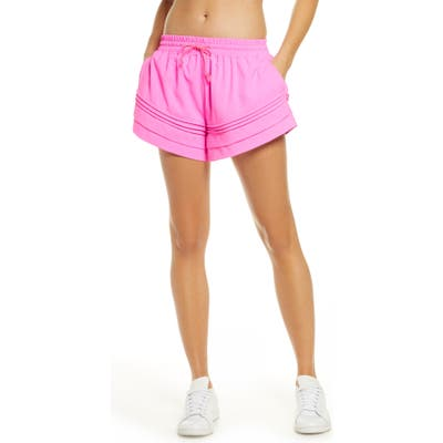 Free People Fp Movement Check It Out Shorts, Pink