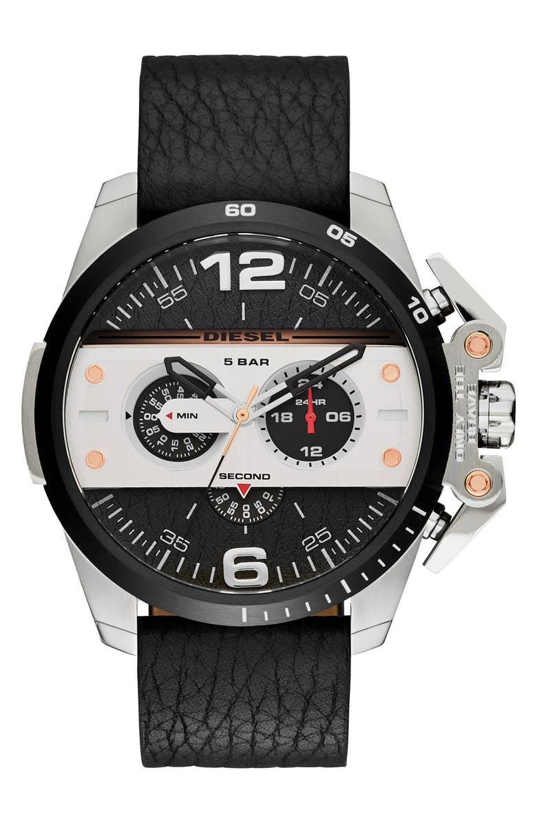 DIESEL<SUP>®</SUP> 'Ironside' Chronograph Watch, 48mm, Main, color, 001