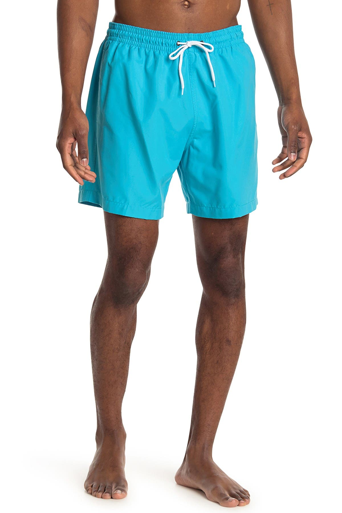 Image of Trunks Surf and Swim CO. Swami Tropical Print Board Shorts