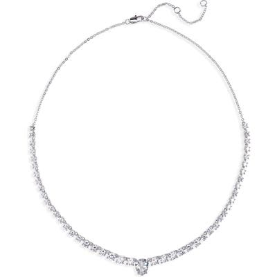 Nordstrom Teardrop Center Collar Necklace