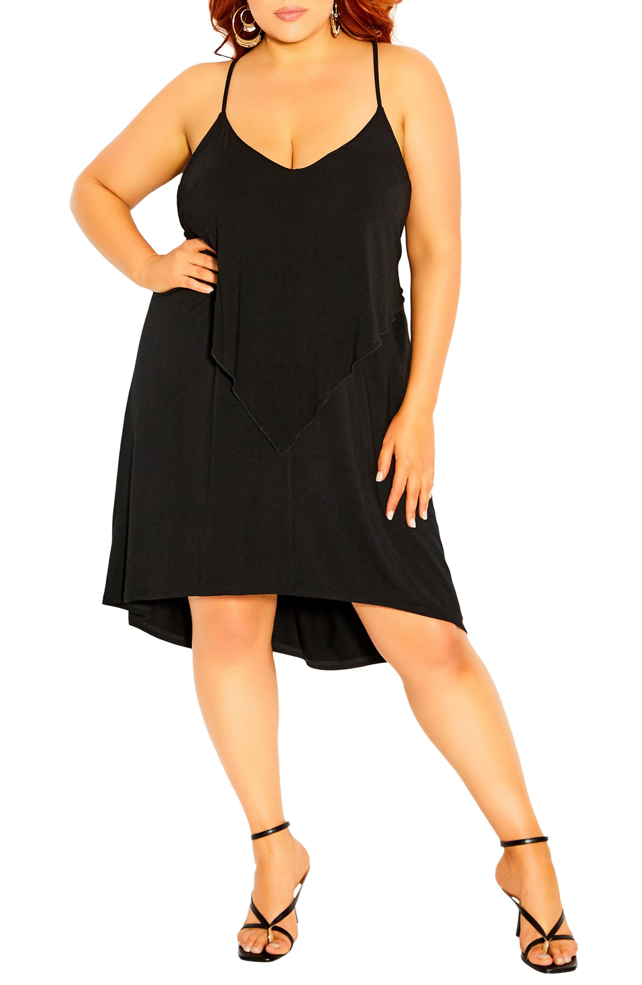 Angel Tier Sleeveless Dress