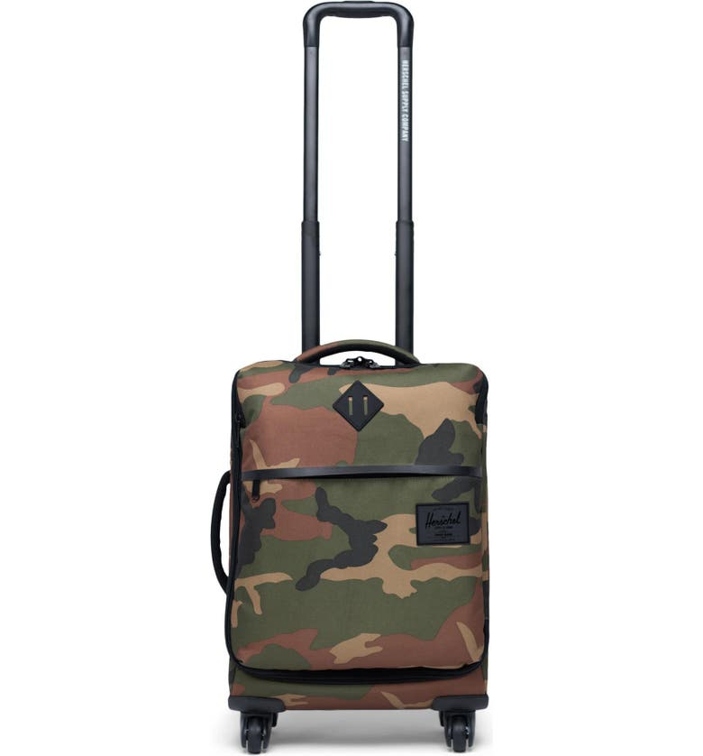 HERSCHEL SUPPLY CO. Highland 22-Inch Wheeled Carry-On, Main, color, WOODLAND CAMO