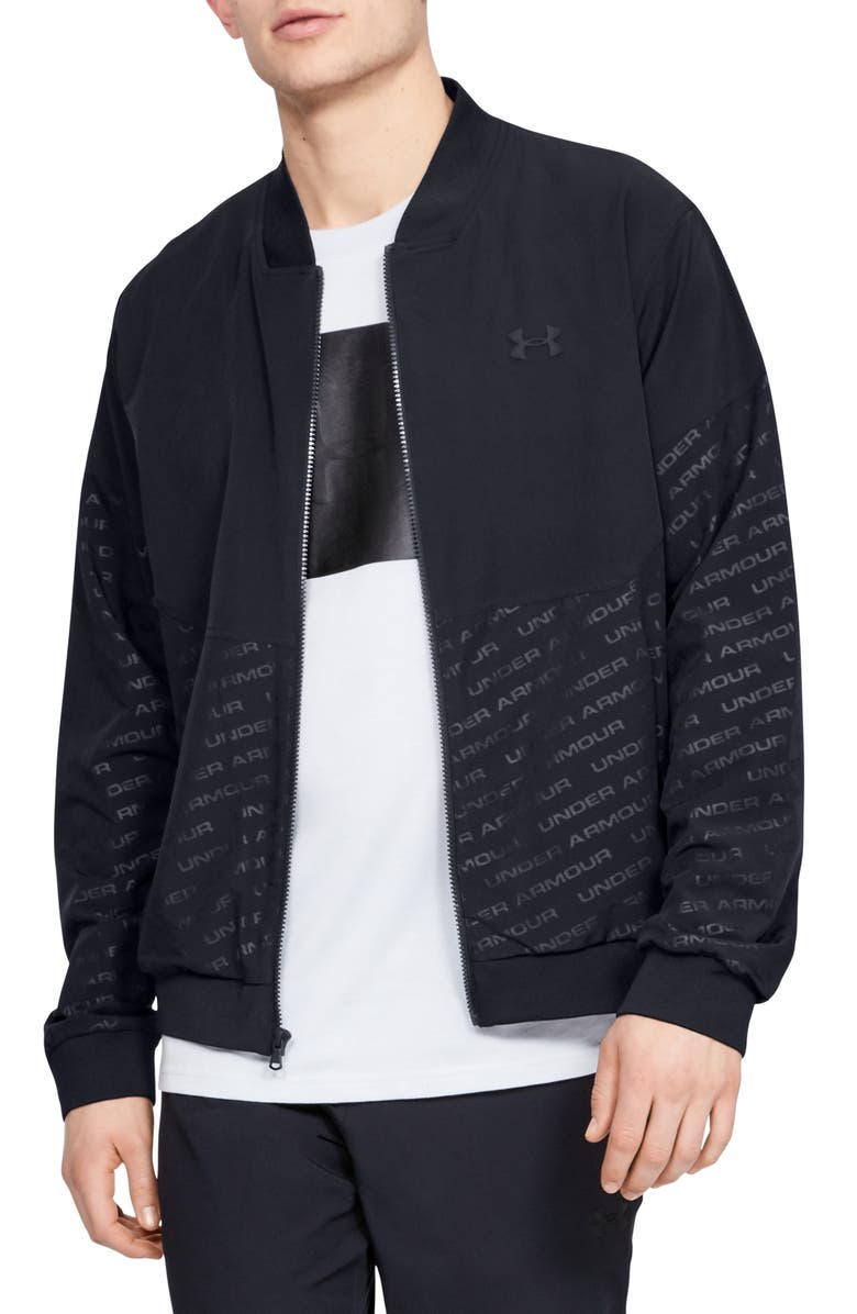 Under Armour Unstoppable Mens Performance Bomber Jacket