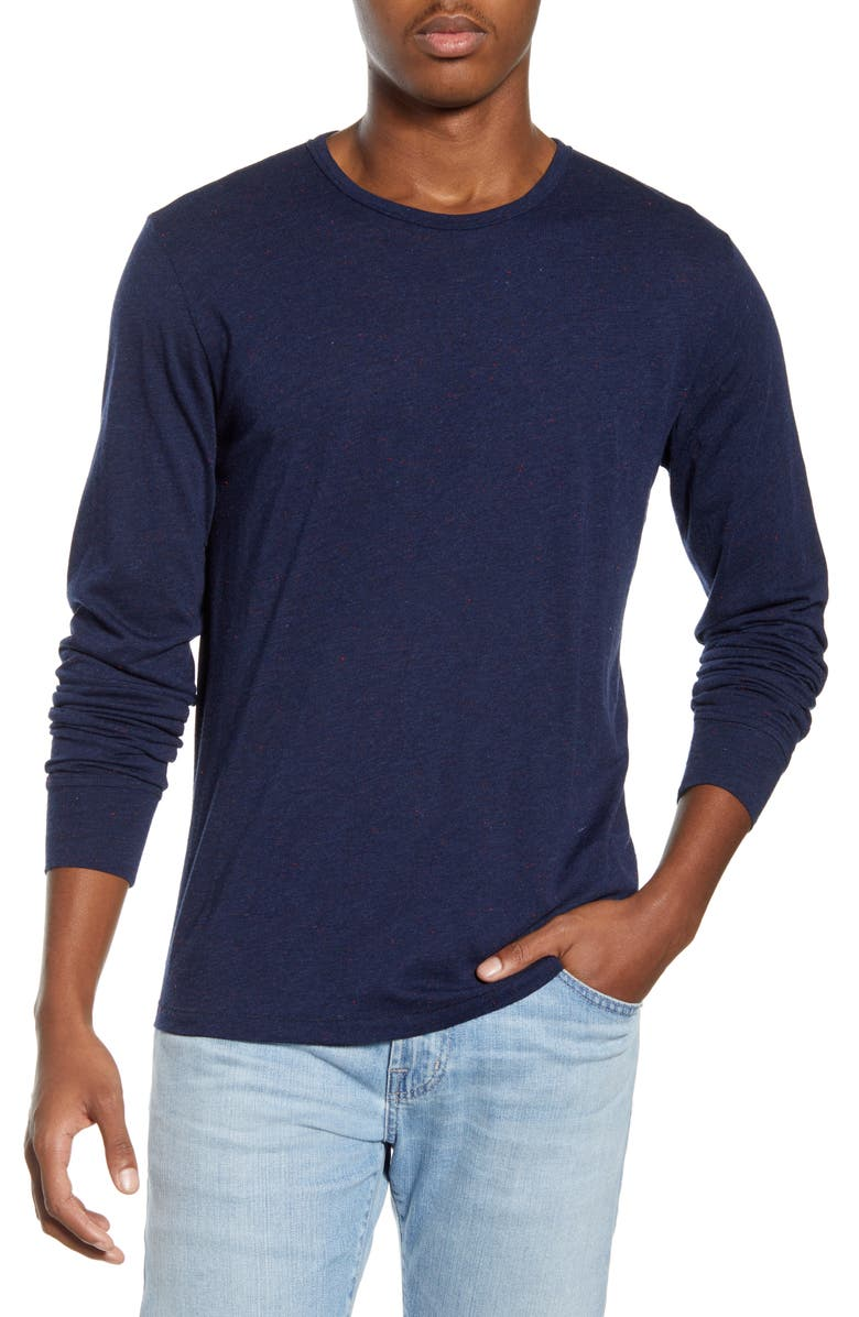 RAG & BONE Neppy Long Sleeve T-Shirt, Main, color, 411