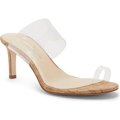 Jessica Simpson Lissah Slide Sandal- White