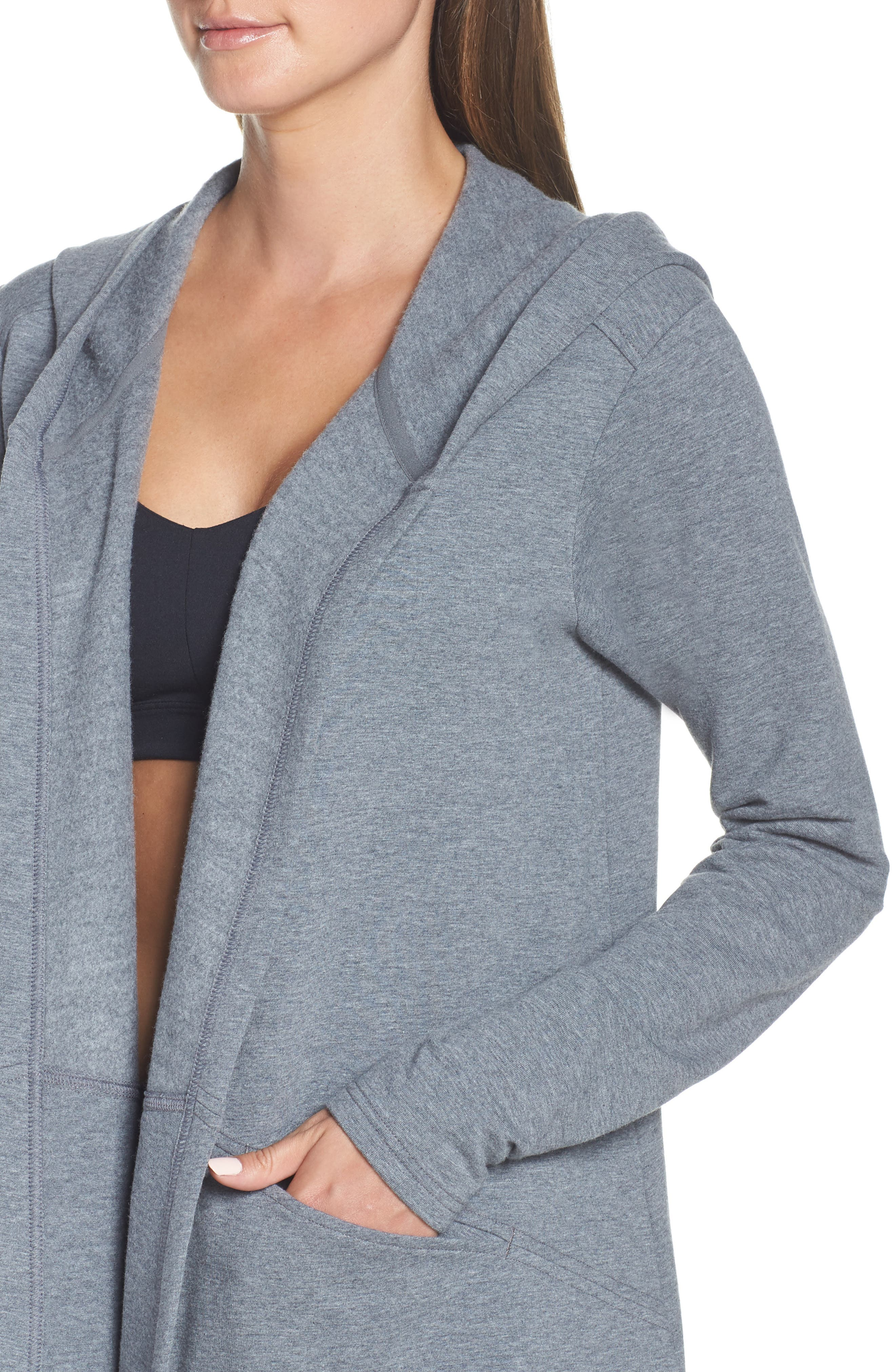 ,                             Ria Hooded Cardigan,                             Alternate thumbnail 17, color,                             030