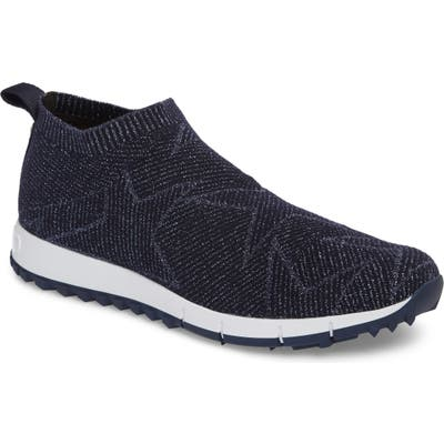 Jimmy Choo Norway Star Slip-On Sneaker, Blue
