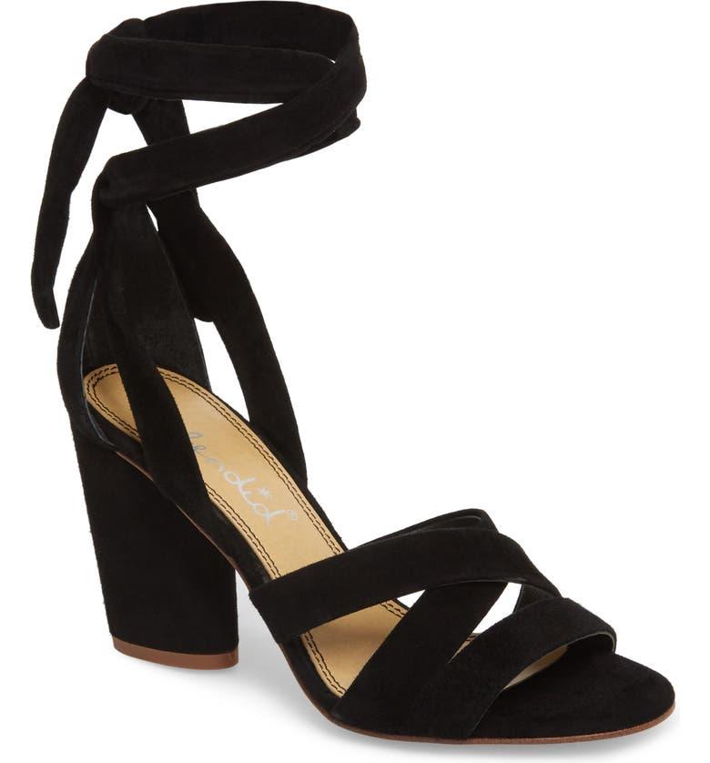 SPLENDID Fergie Lace-Up Sandal, Main, color, 013