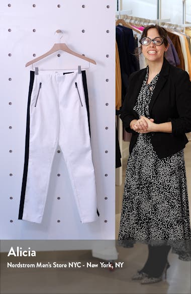 Simone Side Stripe Ankle Pants, sales video thumbnail
