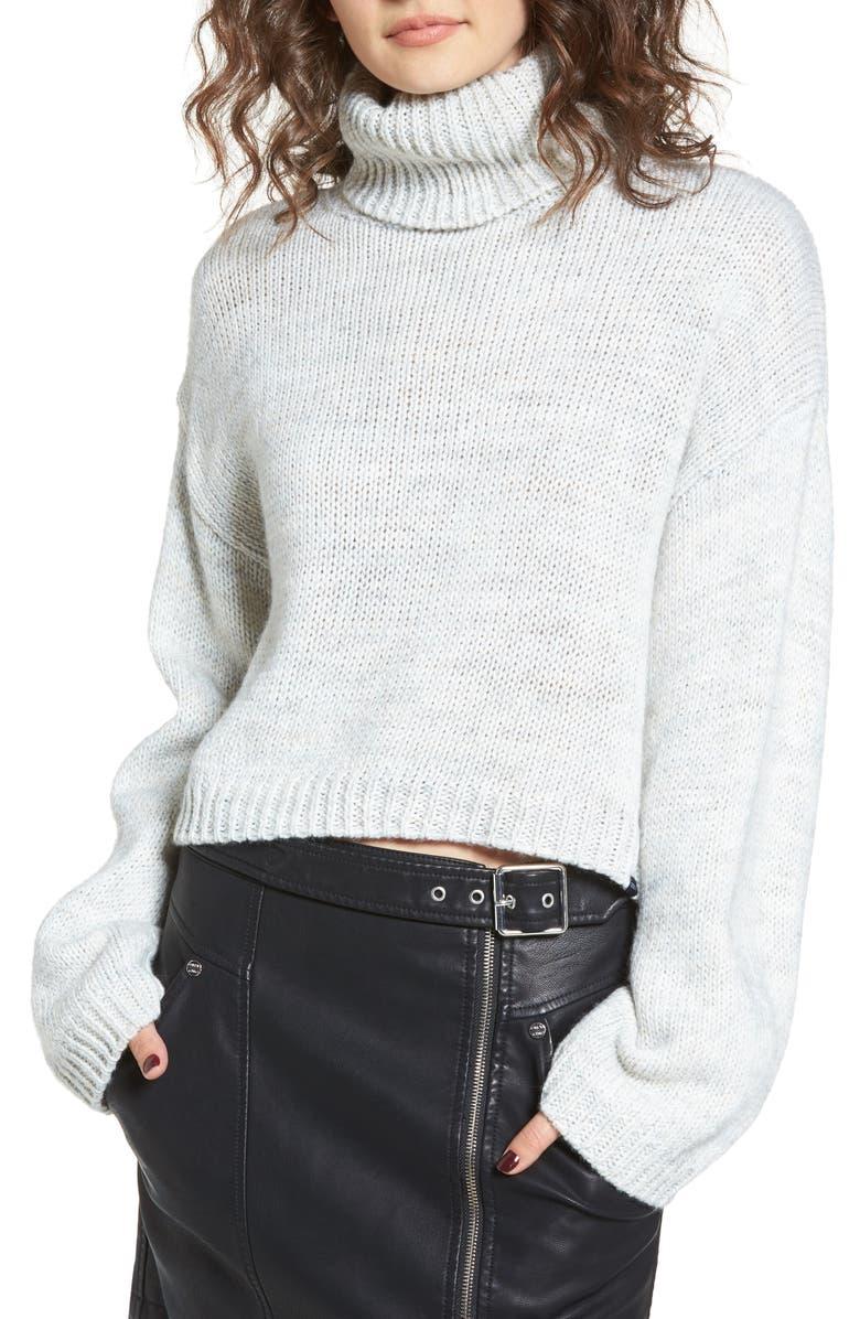 OBEY Skelter Turtleneck Sweater, Main, color, 060