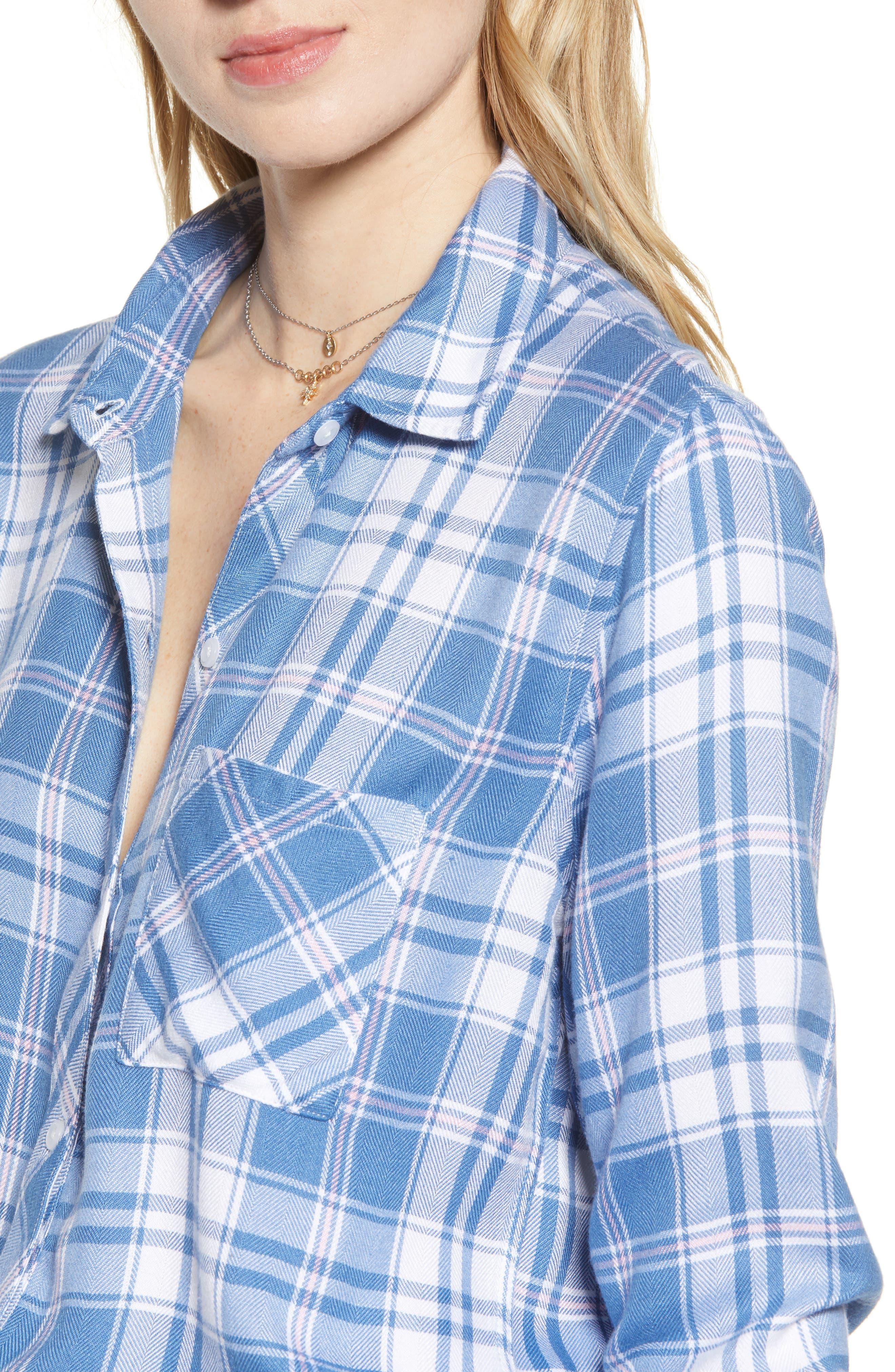 ,                             Hunter Plaid Shirt,                             Alternate thumbnail 160, color,                             481