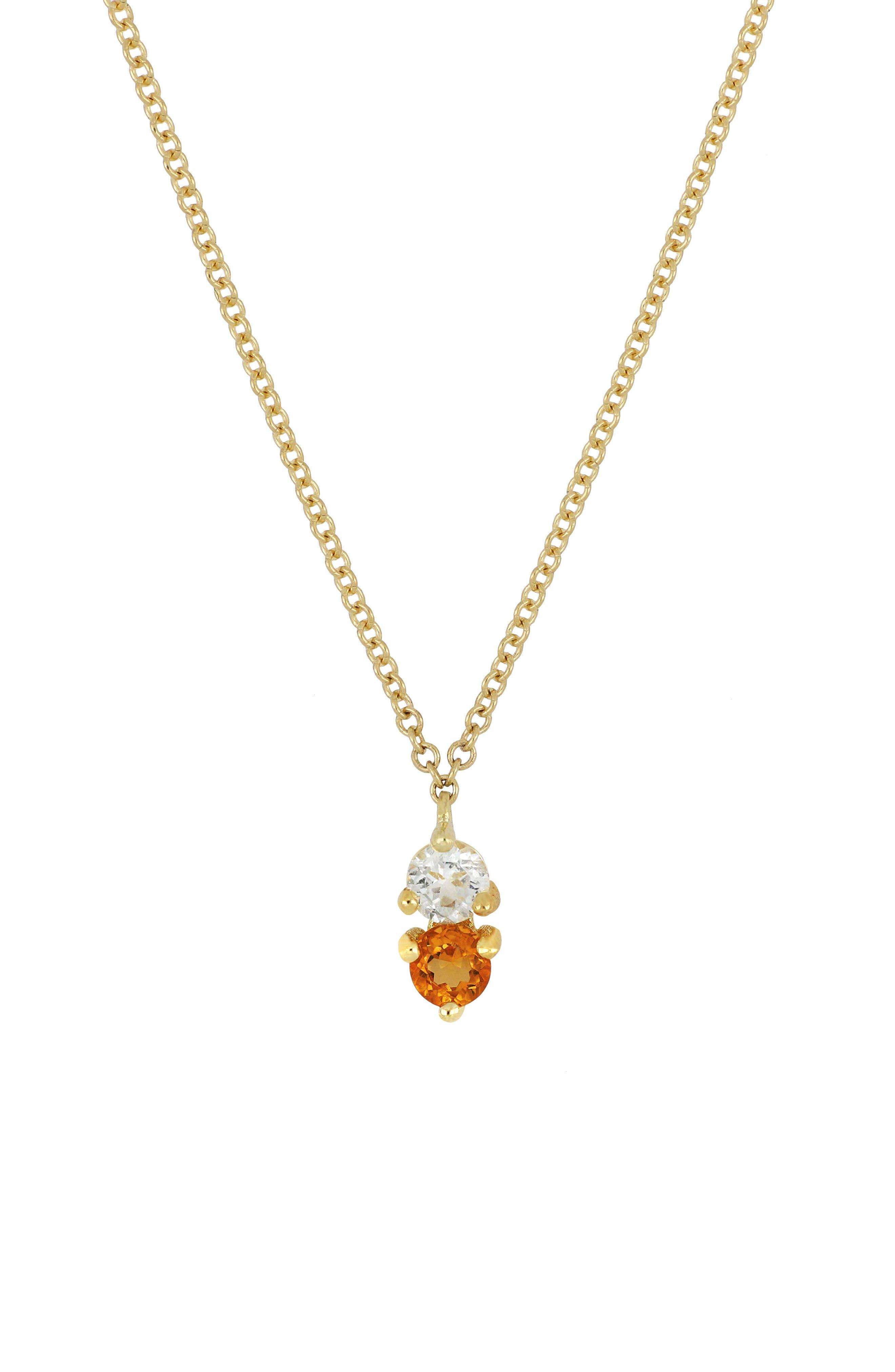 ,                             Birthstone Pendant Necklace,                             Main thumbnail 21, color,                             730