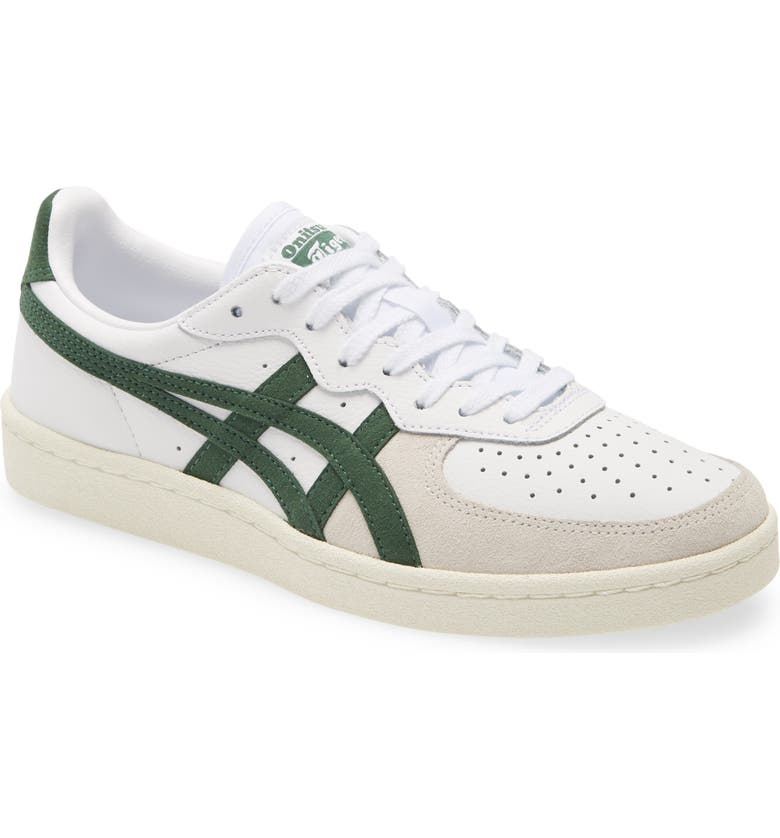 ASICS<SUP>®</SUP> Onitsuka Tiger<sup>™</sup> GSM Sneaker, Main, color, WHITE/ HUNTER GREEN