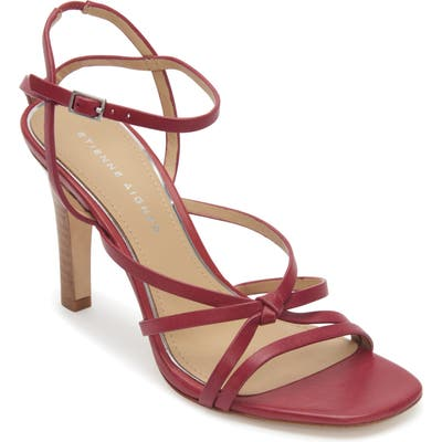 Etienne Aigner Milan Strappy Sandal- Red