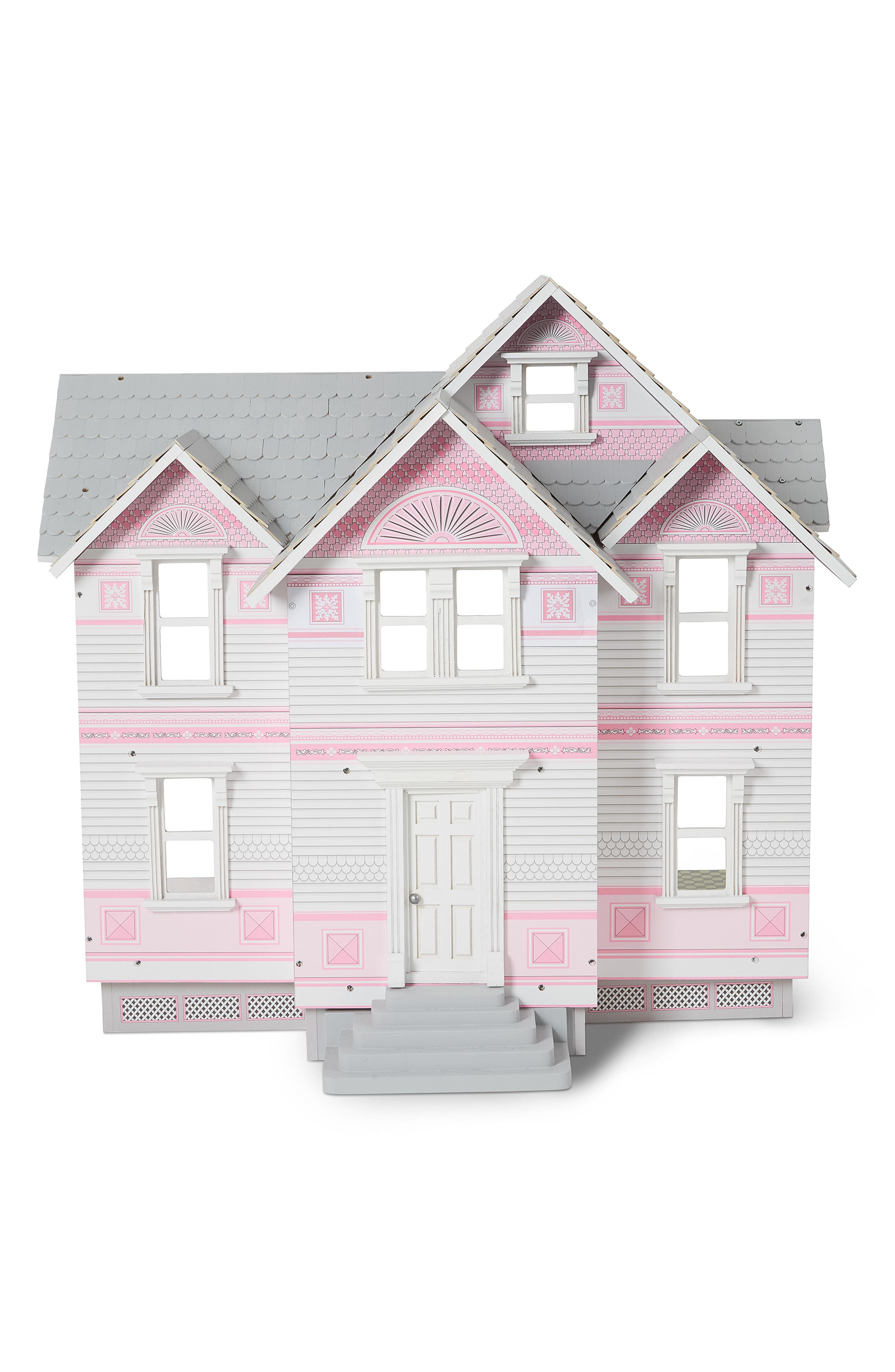 Toddler Girls Melissa  Doug Victorian Dollhouse