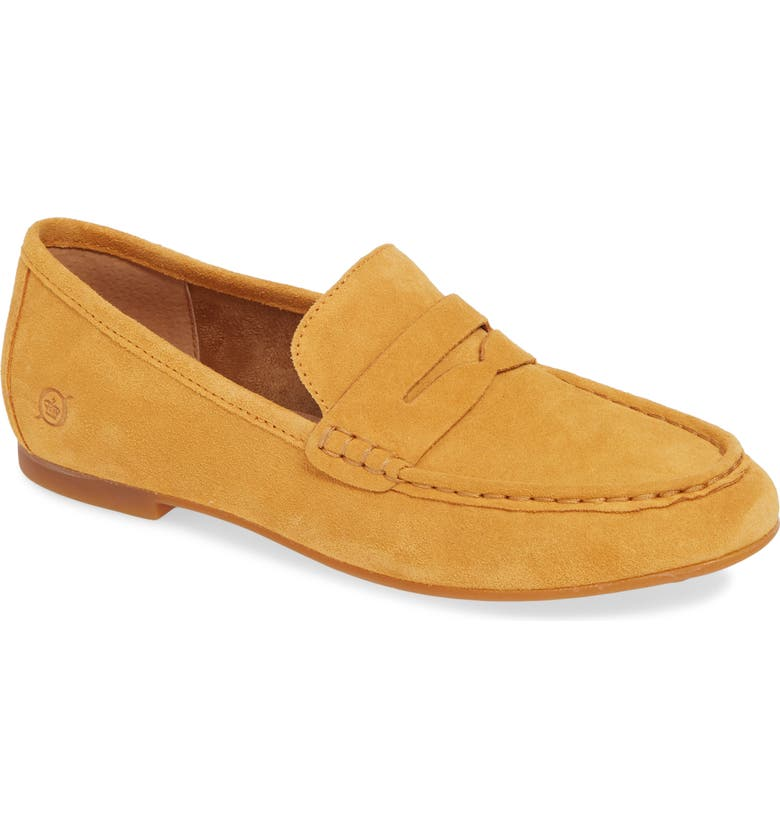 BØRN Barnstable Loafer, Main, color, MUSTARD SUEDE