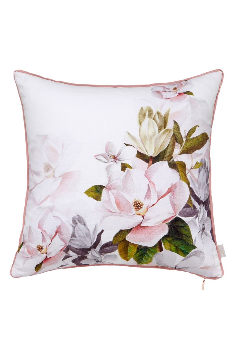 TED BAKER LONDON Opal Print Accent Pillow, Main, color, MULTI
