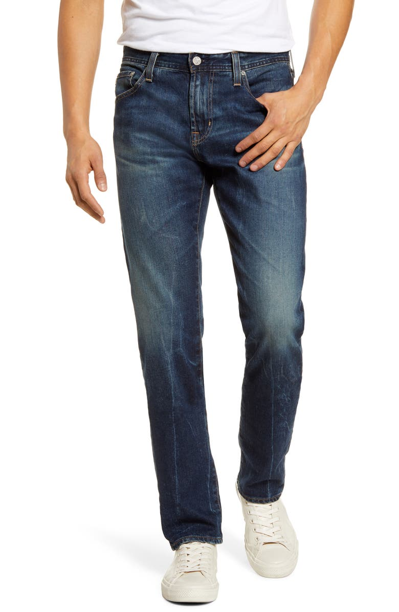 AG Tellis Slim Fit Jeans, Main, color, 11 YEARS BRAVO
