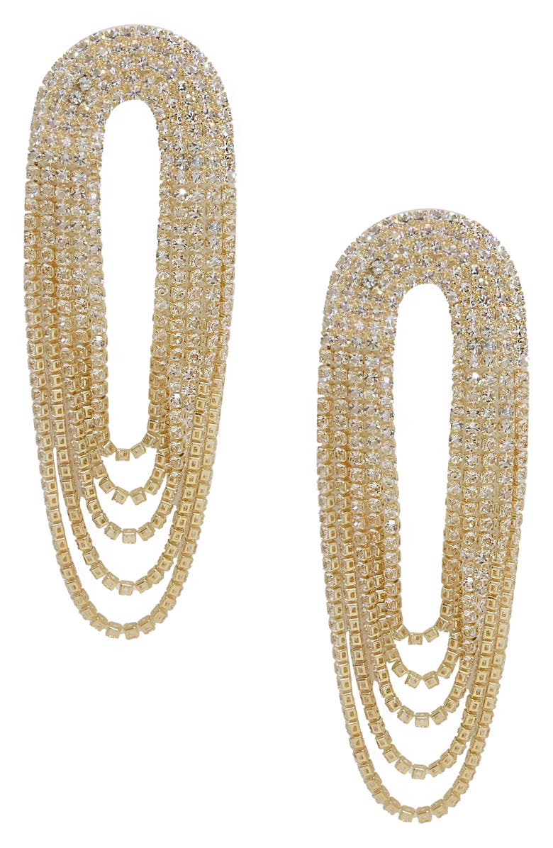ETTIKA Crystal Chandelier Earrings, Main, color, 710