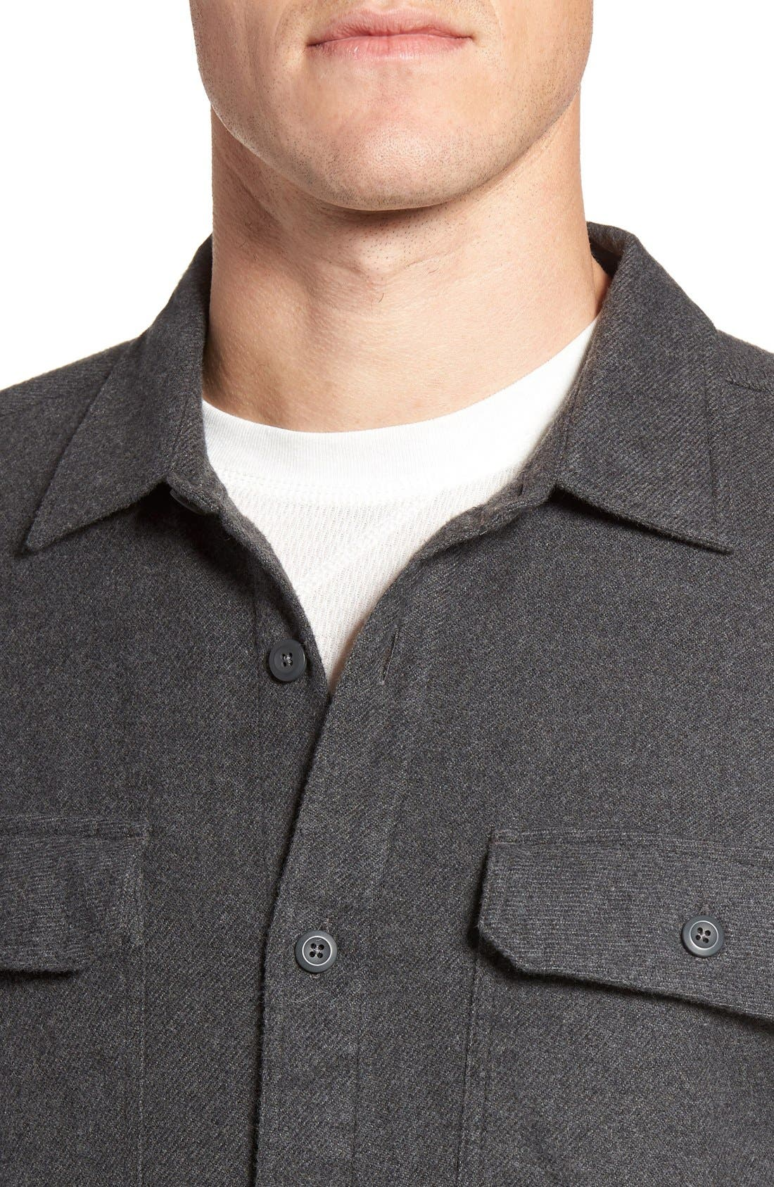 ,                             'Fjord' Regular Fit Organic Cotton Flannel Shirt,                             Alternate thumbnail 83, color,                             026