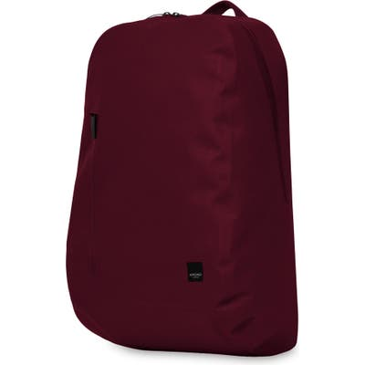 Knomo London Thames Harpsden Backpack - Burgundy