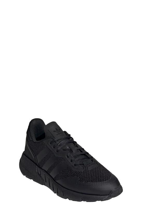 Adidas Originals Adidas Big Kids' Originals Zx 1k Boost Casual Shoes In Black/ Black/ Black